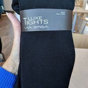 VIA SPIGA LUXE TIGHTS NWT